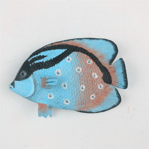The factory sells deep sea fish refrigerator magnetic paste resin material fish refrigerator magnet