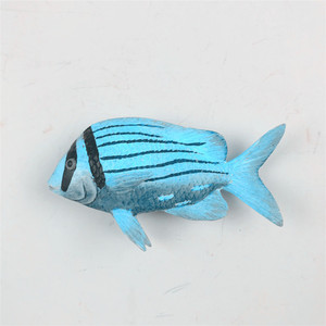 Tropical fish magnet refrigerator paste ocean series resin decorative refrigerator paste fish resin