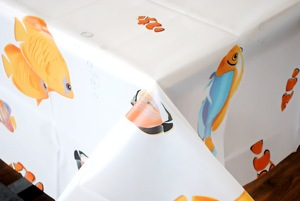 Animal printing tablecloth, new peva tablecloth, fashion popular peva tablecloth